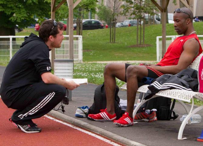 Avec mon coach Rodolphe DARSAU-CARRE